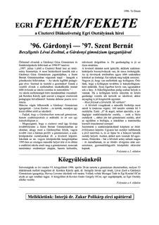 1996 Te Deum