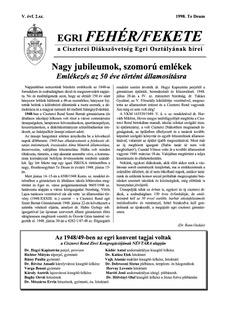 1998 Te Deum