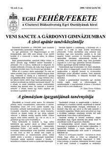 1999 Veni Sancte