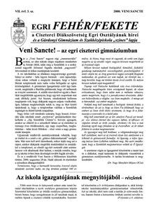 2000 Veni Sancte