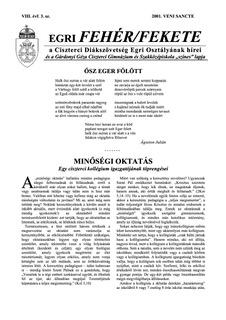 2001 Veni Sancte