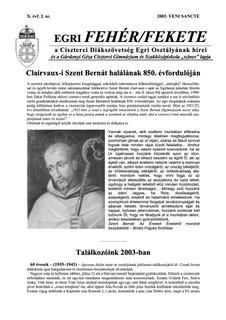 2003 Veni Sancte