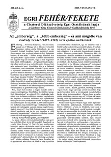 2005 Veni Sancte