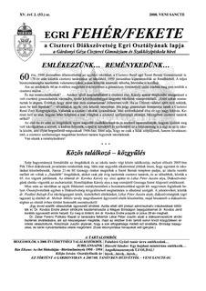 2008 Veni Sancte